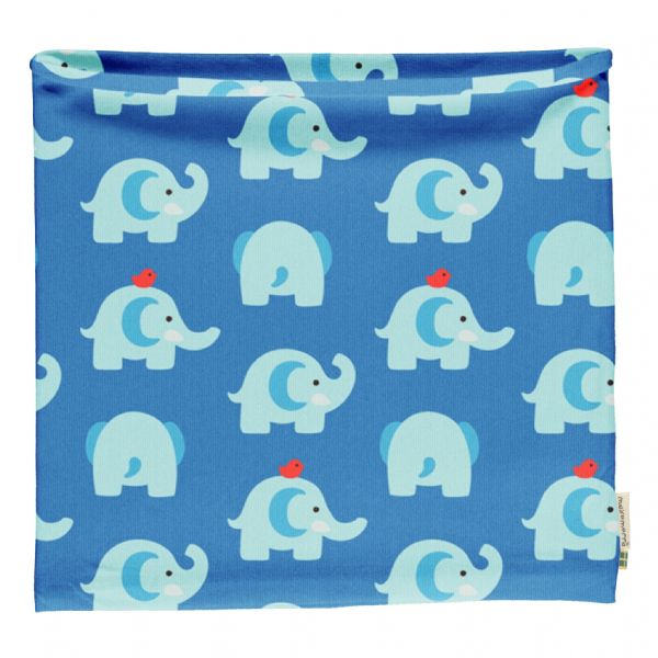 Maxomorra Elephant Friends Tube Scarf